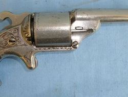 Moores / Williamsons 1864 Patent 6 Shot Teat Fire Revolver .32  Revolver