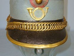 Victorian/ WW1 Era French Military Chasseur's Kepi By Bidal Paris Victorian/ WW1 Era French Military Chasseur's Kepi By Bidal Paris