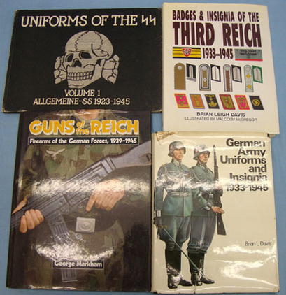 3rd Reich Uniforms, Badges and Guns. BOOKS x 4 3rd Reich Uniforms, Badges and Guns. BOOKS x 4 Accessories