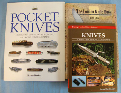 Knife Books By Different AuthorsA Collection Of 3 x Knife Books By Different AuthorsA Collection Of 3 x  Accessories