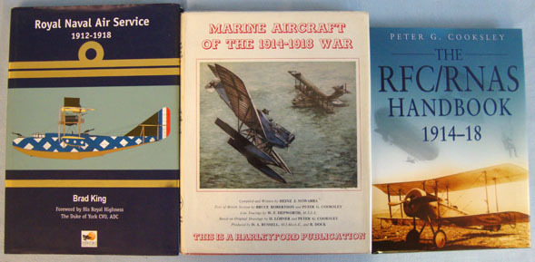 Collection Of Three WW1 Aviation Books. Collection Of Three WW1 Aviation Books. Accessories