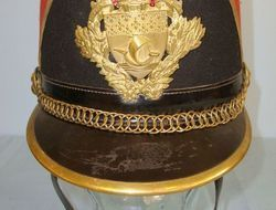 Ets Barrau Paris French Third Republic Republican Guard Model 1874 Shako By Barrau Paris With 'Pa