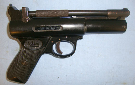 Webley / Webley & Scott Premier MK II Air Guns