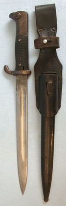 Reichs Finance Adminstration (Customs) M98 Dress Bayonet With Scabbard & 1940 Da  Blades