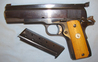 Colt MK IV Series 70 'Government Model' 9mm Luger Calibre Semi Automatic Pistol With  9 mm for sale in United Kingdom