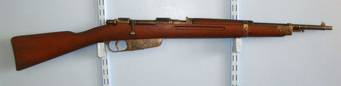 Carcano,Marked Terni Arsenal WW2 1939 Italian, Carcano Royal Army Marked Terni Arsenal, 7.35mm Calibre Carbin Rifles