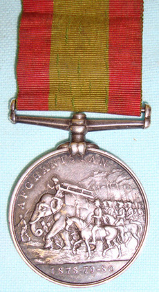 Victorian British, KINGS OWN SCOTTISH BORDERERS 1878-80 Afghanistan Medal Victorian British, KINGS OWN SCOTTISH BORDERERS 1878-80 Afghanistan Medal  Accessories