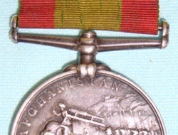 Victorian British, KINGS OWN SCOTTISH BORDERERS 1878-80 Afghanistan Medal Victorian British, KINGS OWN SCOTTISH BORDERERS 1878-80 Afghanistan Medal