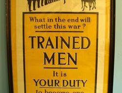 WW1 British Government Parliamentary Recruiting Committee Recruitment Poster No. WW1 British Government Parliamentary Recruiting Committee Recruitment Poster No.