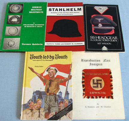 Five Books On German Uniform & Hitler youth. Five Books On German Uniform & Hitler youth. Accessories