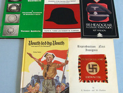 Five Books On German Uniform & Hitler youth. Five Books On German Uniform & Hitler youth.
