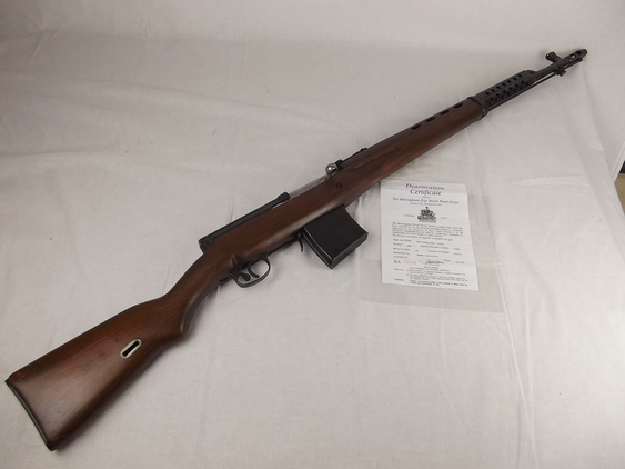 Old Specifications Deactivated 1941 Russian Tok  Rifles