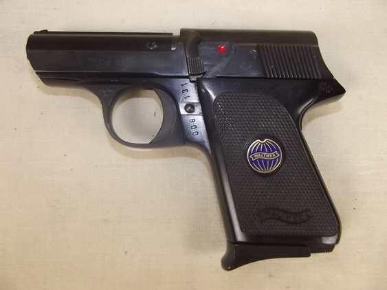 1968 New Specification Deactivated Walther TP Cal. 6.35 Pistol With Original Box  Pistol / Hand Guns