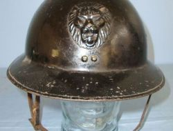 Belgian Infantry 1926 French Pattern WW2 era Belgian Infantry 1926 French Pattern 'Adrian' Combat Helmet