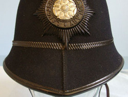 Post 1953 Lancashire Constabulary Male Constable Post 1953 Lancashire Constabulary Male Constable's/ Sergeant's 2 Panel Helmet Wi