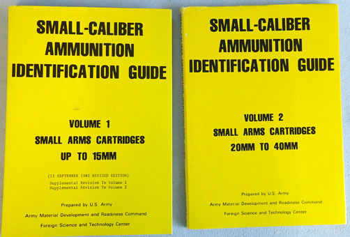 'Small-Caliber Ammunition Identification Guide' By R.T.Huntington For cartridges R.T.Huntington Accessories