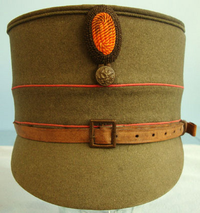 WW1 Dutch Army NCO WW1 Dutch Army NCO's Shako Cap Accessories