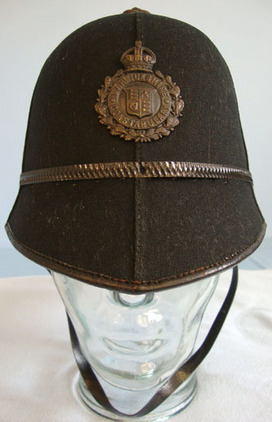 WW2 Era Pre 1953 Warwickshire Police Male Constable WW2 Era Pre 1953 Warwickshire Police Male Constable's/ Sergeant's 6 Panel Helmet Accessories
