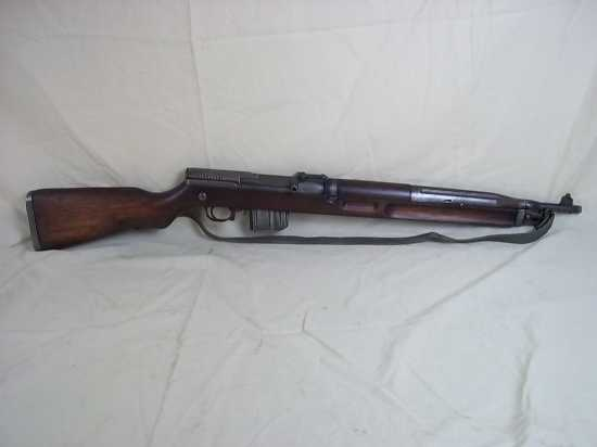 An Old Specifications Deactivated c1950\'s Czeck VZ52 Self Loading Carbine with   Rifles