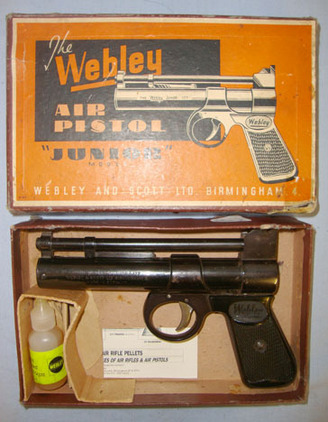 Webley / Webley & Scott Junior  Air Guns