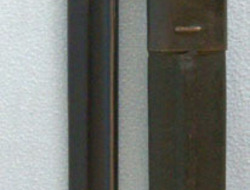 Indian 1907 Pattern, Bayonet with Sharpened Tip (False Edge) and Scabbard.  Bayonets