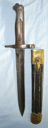 Italian Model 1870 Carcano Rifle Knife Bayonet  Blades