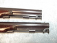 Pair of 18th Century Duelling Percussion Pistols by H.W. Mortimer of London    Muzzleloader for sale in United Kingdom