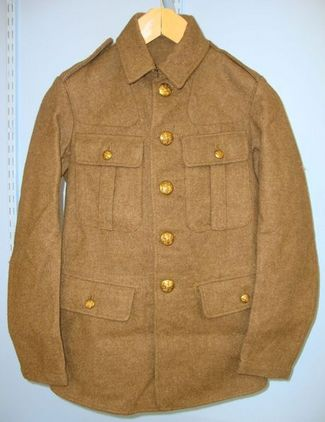 Silberston & Sons London Unissued, WW2 1939 British Army Other Ranks Khaki Battle/ Service Dress Tunic/ J Accessories