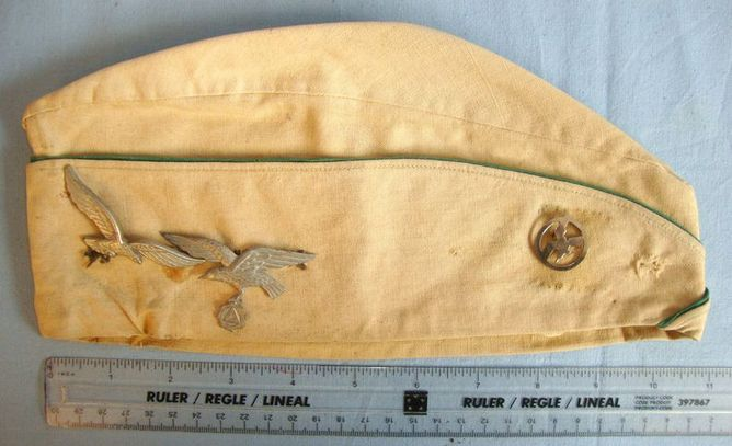 Pre WW2 Belgian Fascist Vlaamsch Nationaal Verbond (VNV) Party Side Cap With 3 M Pre WW2 Belgian Fascist Vlaamsch Nationaal Verbond (VNV) Party Side Cap With 3 M Accessories