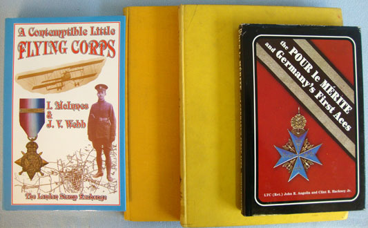 4 x Books About WW1 Flying, British and German. 4 x Books About WW1 Flying, British and German. Accessories