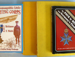 4 x Books About WW1 Flying, British and German. 4 x Books About WW1 Flying, British and German.