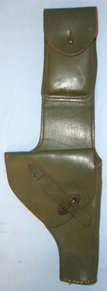 Falklands War Souvenir Bring Back, Argentine Military Leather Holster For Balles Falklands War Souvenir Bring Back, Argentine Military Leather Holster For Balles Accessories