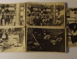 A Set Of Five B&W Photographs Of The Execution Of Benito Mussolini