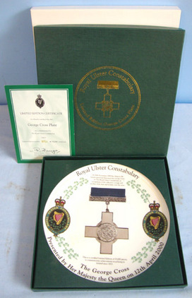 LIMITED EDITION No 851 Of 15000, Royal Ulster Constabulary Commissioned George C MINT, BOXED, LIMITED EDITION No 851 Of 15000, Royal Ulster Constabulary Commissi Accessories