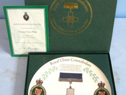 LIMITED EDITION No 851 Of 15000, Royal Ulster Constabulary Commissioned George C MINT, BOXED, LIMITED EDITION No 851 Of 15000, Royal Ulster Constabulary Commissi