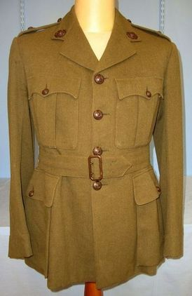 WW2 British Royal Marines Officer's Uniform Service Tunic Jacket With Royal Mari WW2 British Royal Marines Officer's Uniform Service Tunic Jacket With Royal Mari Accessories