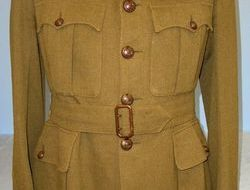 WW2 British Royal Marines Officer's Uniform Service Tunic Jacket With Royal Mari WW2 British Royal Marines Officer's Uniform Service Tunic Jacket With Royal Mari