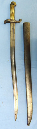 French M1842/59 bayonet and scabbard  Blades
