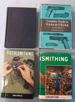 Collection of Four 'Gunsmithing' Books Collection of Four 'Gunsmithing' Books Accessories