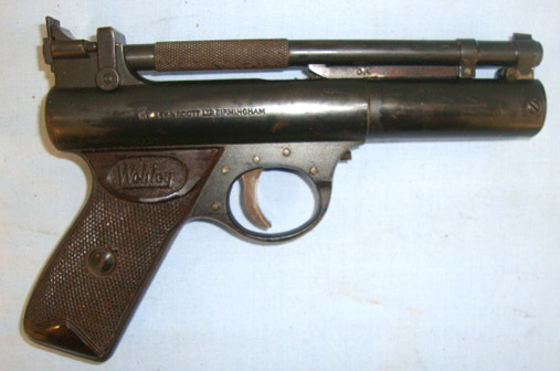 Webley / Webley & Scott Premier .22 Calibre Air Pistol 'F' Series Air Guns
