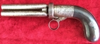 Under hammer 4 barrel Mariette ring-trigger Percussion pepperbox revolver. Ref 7792   Muzzleloader for sale in United Kingdom