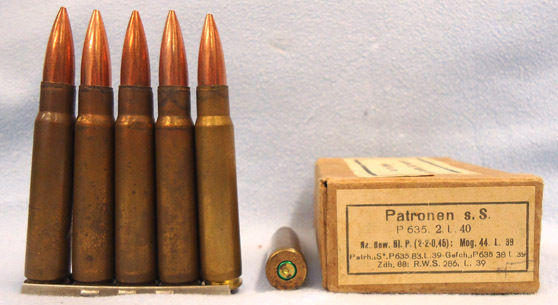 INERT DEACTIVATED. German Pre War (1938 Dated) 15 Round Service Pack In Stripper INERT DEACTIVATED. German Pre War (1938 Dated) 15 Round Service Pack In Stripper Accessories