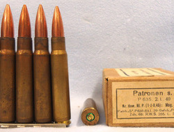 INERT DEACTIVATED. German Pre War (1938 Dated) 15 Round Service Pack In Stripper INERT DEACTIVATED. German Pre War (1938 Dated) 15 Round Service Pack In Stripper