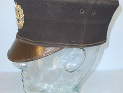 Staffordshire Constabulary Police Shako With Original Kings Crown...