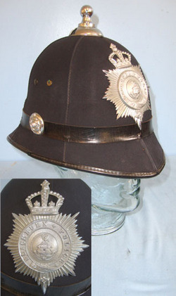 Blackburn Police Male Constable\'s/ Sergeant\'s 6 Panel Ball Top Helmet With Kin Blackburn Police Male Constable's/ Sergeant's 6 Panel Ball Top Helmet With King' Accessories