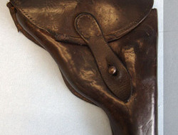 British Army Officer\'s Brown Leather Revolver Holster British Ar...