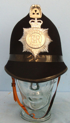 Dorset Police Male Constable\'s / Sergeant\'s Blue Serge Helmet With Helmet Plat Dorset Police Male Constable's / Sergeant's Blue Serge Helmet With Helmet Plate, Accessories