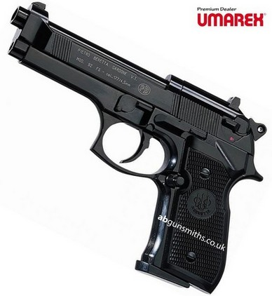 Beretta 92 FS Black Umarex CO2 Air Guns