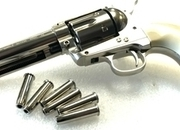 Colt SAA45 Peacemaker - Nickel .177  Air Pistols