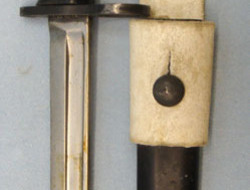 No 7 MK 1/L Swivelling Pommel Bayonet With Black Composite Grips For No 4 Rifles No 7 MK 1/L Swivelling Pommel Bayonet With Black Composite Grips For No 4 Rifles Bayonets